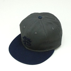 EBBETS FIELD FLANNELS / エベッツフィールドフランネルズ Cotton 6Panel Ball Cap (San Francisco Seals1949) Navy/Grey