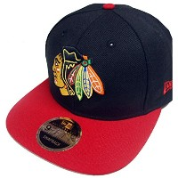 New Era NHL Chicago Blackhawks 2 Tone Snapback Cap Kappe 9fifty Basecap