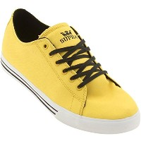 [スープラ]Supra Thunder Low (yellow canvas)サンダーロー黄色(24.5CM)-US size:6.5