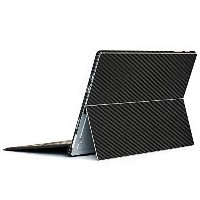 wraplus for Surface Pro / Pro 4 【ブラックカーボン】 スキンシール 側面 背面 カバー フィルム 保護 ケース