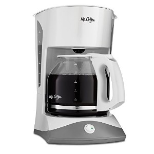 Mr. Coffee SK12 12-Cup Manual Coffeemaker, White by Mr. Coffee