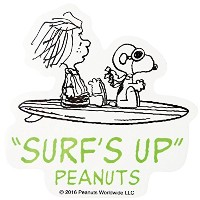 PEANUTS SURFBOARD STICKER SNP-0059 サーフボードステッカー