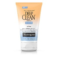 Neutrogena Oil Free Deep Clean Gentle Scrub 124 ml (並行輸入品)