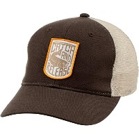 SIMMS シムス Patch Trucker Cap Catch and Release Bark 綿/ナイロンメッシュ フリーサイズ キャップ [並行輸入品]