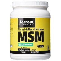 海外直送品MSM Sulfur, 2.2 Lbs by Jarrow Formulas