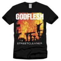 Godflesh - Streetcleaner T-shirt - Size Medium
