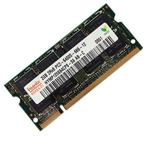 Hynix 200Pin DDR2 800 PC2-6400 2GB SODIMM [HYMP125S64CP8-S6]