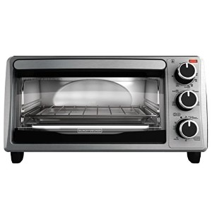 Black and Decker 4-Slice Toaster Oven オーブン 【並行輸入品】
