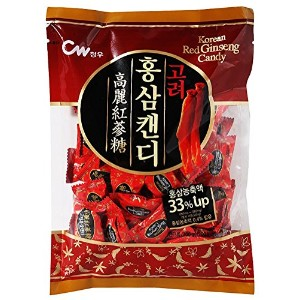 Korean Red Ginseng Candy - 10.58oz (300g) Korean Red Ginseng Hard Candy Product of Korea