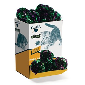 Ourpets Company - Go Cat Go Action Bulk- Krinkle Puff 36 Piece - 1081111762