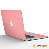 wraplus for MacBook Pro Retina 13 インチ 【サーモンピンク】 スキンシール (Late2012 ~ Early2015)