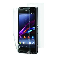 Xperia Z3 compact フィルム Acase view ハードコート 高光沢 液晶保護フィルム スクリーンプロテクター for Sony Xperia Z3 compact ( 前面 +...