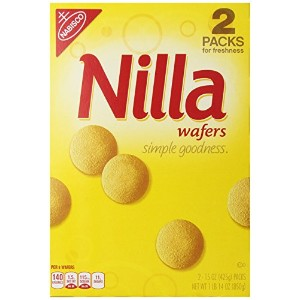 Nabisco Nilla wafers 15oz(425g) x 2Packs ナビスコ ニラ 425gx2パック入り