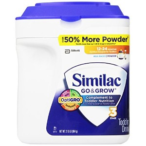 Similac - Go & Grow Infant Formula, 34 oz. (2.13 lb) - 1 pk. by Similac