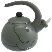 【並行輸入】Supreme Housewares Whistling Tea Kettle, Elephant ケトル 象