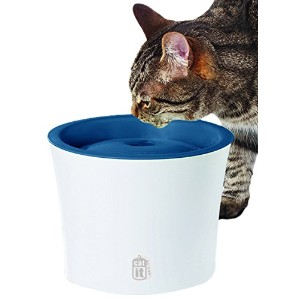 Catit Design Senses Fountain with Water Softening Cartridge, 3L by Catit