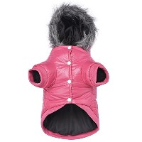 Lesypet Dog Puppy Winter Warm Hooded Coat Jacket Snowsuit Clothes Apparel by LesyPet