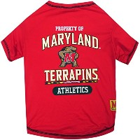 Maryland Terrapins Pet Shirt SM