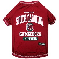 South Carolina Gamecocks Pet Shirt SM