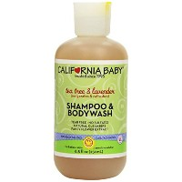 【並行輸入品】California Baby Shampoo & Body Wash - Tea Tree & Lavender 8.5 oz (Pack of 3)
