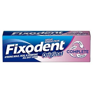 Fixodent Complete Original Denture Adhesive Cream, 47 g by Fixodent