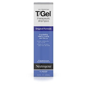 Neutrogena T/Gel Therapeutic Shampoo, Original Formula, 8.5 Ounce (Pack of 2)