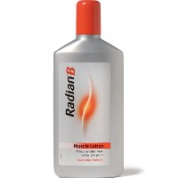 Radian-B muscle lotion plastic packs 250ml by Radian-B