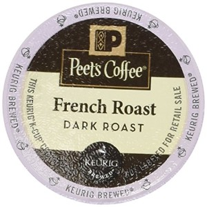 Peet's Coffee French Roast Single Cup Coffee for Keurig K-Cup Brewers 40 count by Peet's Coffee