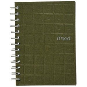 Recycled Notebook, 5 X 7, 80 Sheets, College Ruled, Perforated, Assorted (並行輸入品)