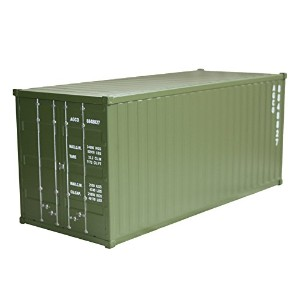 アンドグラッド Metal Container Multi Box Army Green 20330