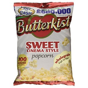 Butterkist Popcorn - Sweet Cinema (120g) Butterkistポップコーン - 甘い映画館( 120グラム)