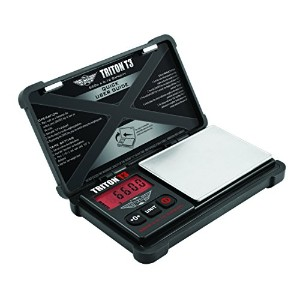 ONE - My Weigh Triton T3 400g x 0.01g Digital Scale w/Rubber Case - TOUGH! by Triton