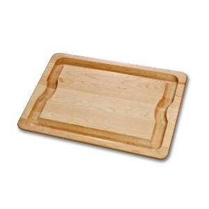 J.K. Adams 16-Inch-by-12-Inch Sugar Maple Wood Barbeque Carving Board by J.K. Adams