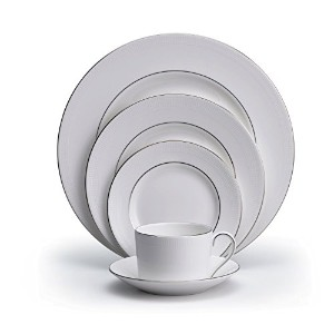 Vera Wang by Wedgwood Blanc Sur Blanc Five-Piece Place Setting by Wedgwood