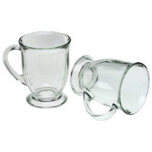 Anchor Hocking 6-Piece 16-ounce Crystal Cafe Mug Set by Anchor Hocking