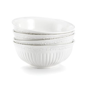 Mikasa Italian Countryside Fruit Bowl, 5-1/4-Inch, Set of 4 by Mikasa