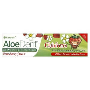 Optima Alodent 50ml Childrens Strawberry Flavour Toothpaste by Optima