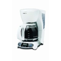 Mr. Coffee TFX20 12-Cup Programmable Coffeemaker, White by Mr. Coffee