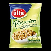 ultje Edelnuts - 高貴ナッツ- Pistazien without fat roasted and salted, mit Schale 150 g - 5,29 oz -...