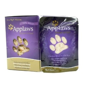 (6 Pack) Applaws - Chicken & Rice Pouch 70g by Applaws [並行輸入品]
