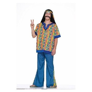 Costume Hippie Dude Plus Size (並行輸入品)