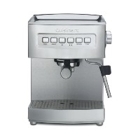 Cuisinart EM-200 Programmable 15-Bar Espresso Maker, Stainless Steel 並行輸入