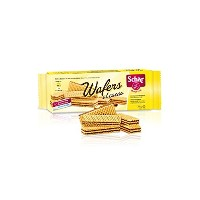 Dr Schär (GLUTEN FREE) WAFERS with CACAO filling - グルテンフリー クッキー(125gr x 5箱) - 並行輸入品