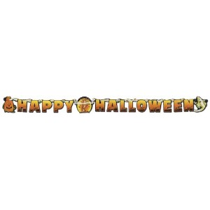 Happy Halloween Streamer Party Accessory (1 count) (1/Pkg) by Beistle