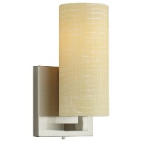 Forecast Lighting F433036 Cambria 1 Light Wall Sconce, Satin Nickel by Forecast Lighting