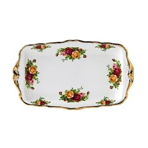 Royal Albert Old Country Roses 11-3/4-inch Sandwich Tray by Royal Albert