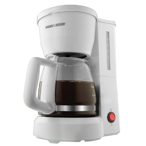 【並行輸入】Black & Decker DCM600W 5-Cup Drip Coffeemaker White コーヒーメーカー