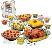 Anchor Hocking 34 Piece Expressions Ovenware Set by Anchor Hocking
