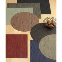 """Chilewich Bamboo Place Mat (19""""x14""""/Cranberry) by Chilewich [並行輸入品]"""