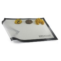 World Cuisine 11.75-Inch x 8.25-Inch Silicone Non-Stick Baking Mat - White (41150) by Paderno World...